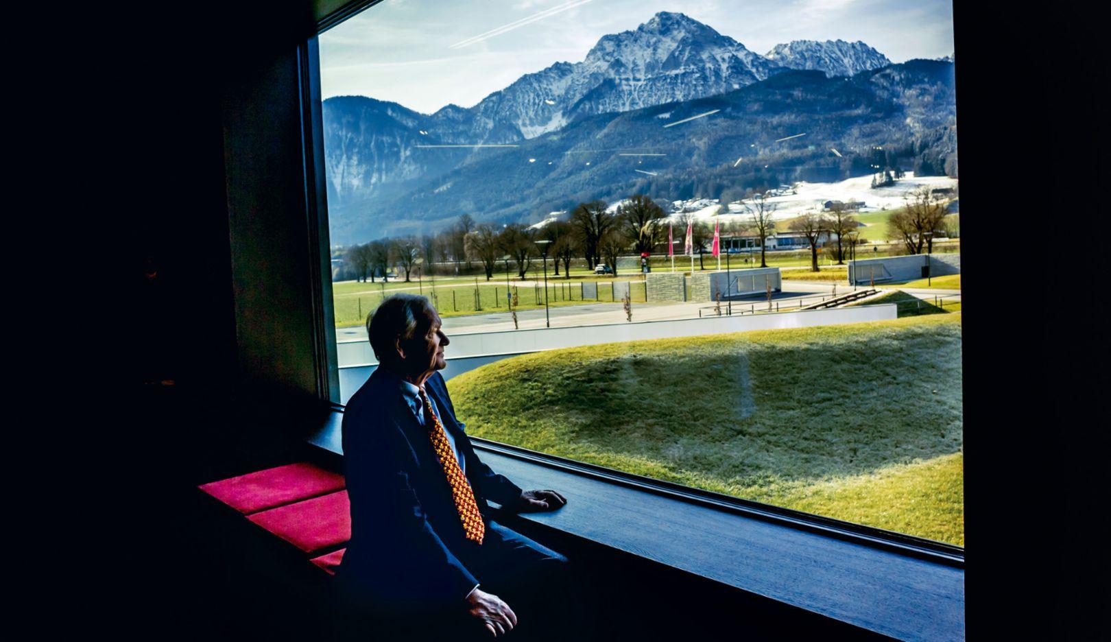 Hans-Peter Porsche, Mitglied des Aufsichtsrates der Porsche AG und der Porsche Automobil Holding SE, Berchtesgadener Land, 2016, Porsche AG
