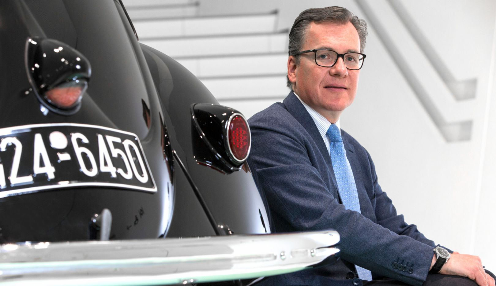 Marcus Baur, CEO of the Bocar Group, 2016, Porsche Consulting GmbH