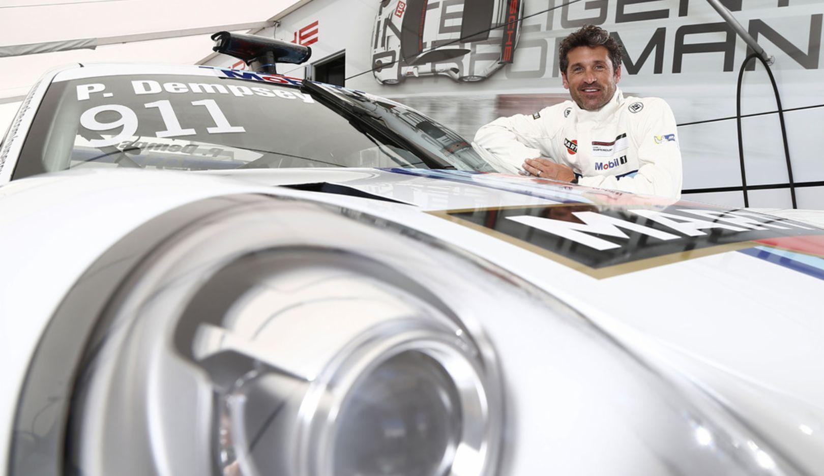 Patrick Dempsey, Rennfahrer, 911 RSR, 2014, Porsche AG
