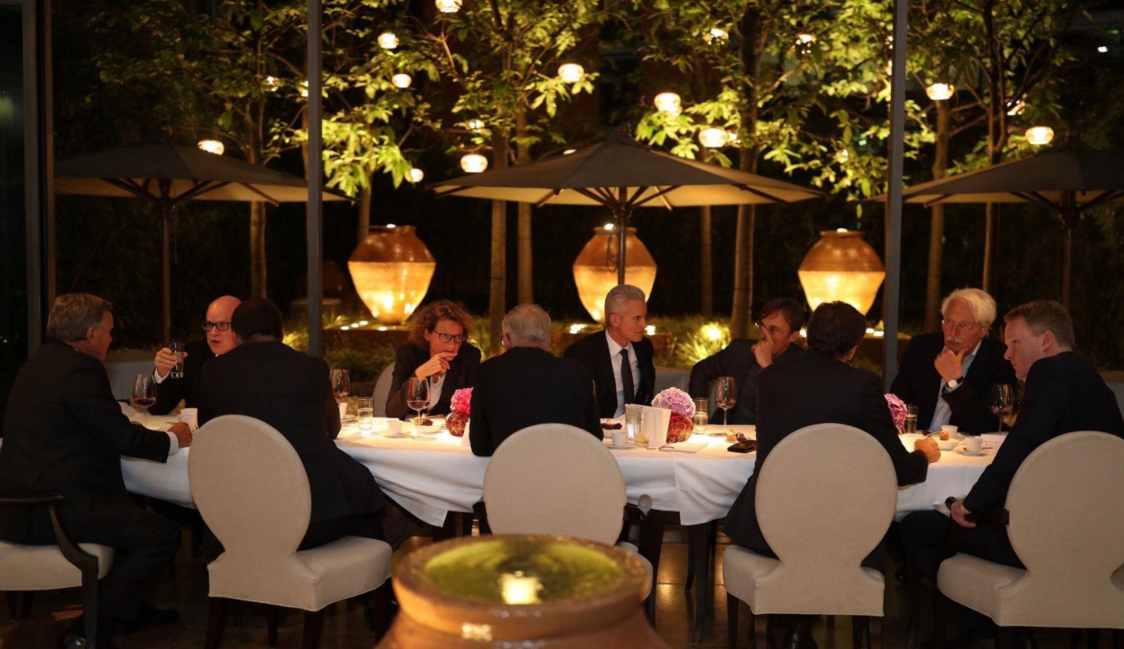 Unternehmer-Dinner, Porsche Consulting, 2017, Porsche AG