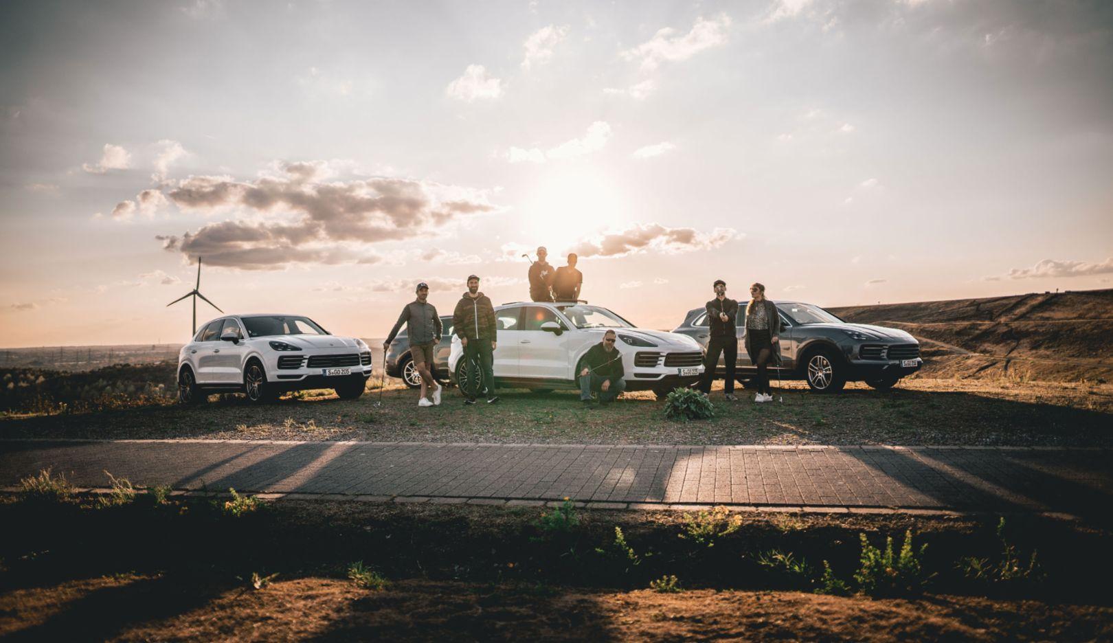 Cayenne S, #PorscheCrossdrive, Halde Hoheward, 2018, Porsche AG