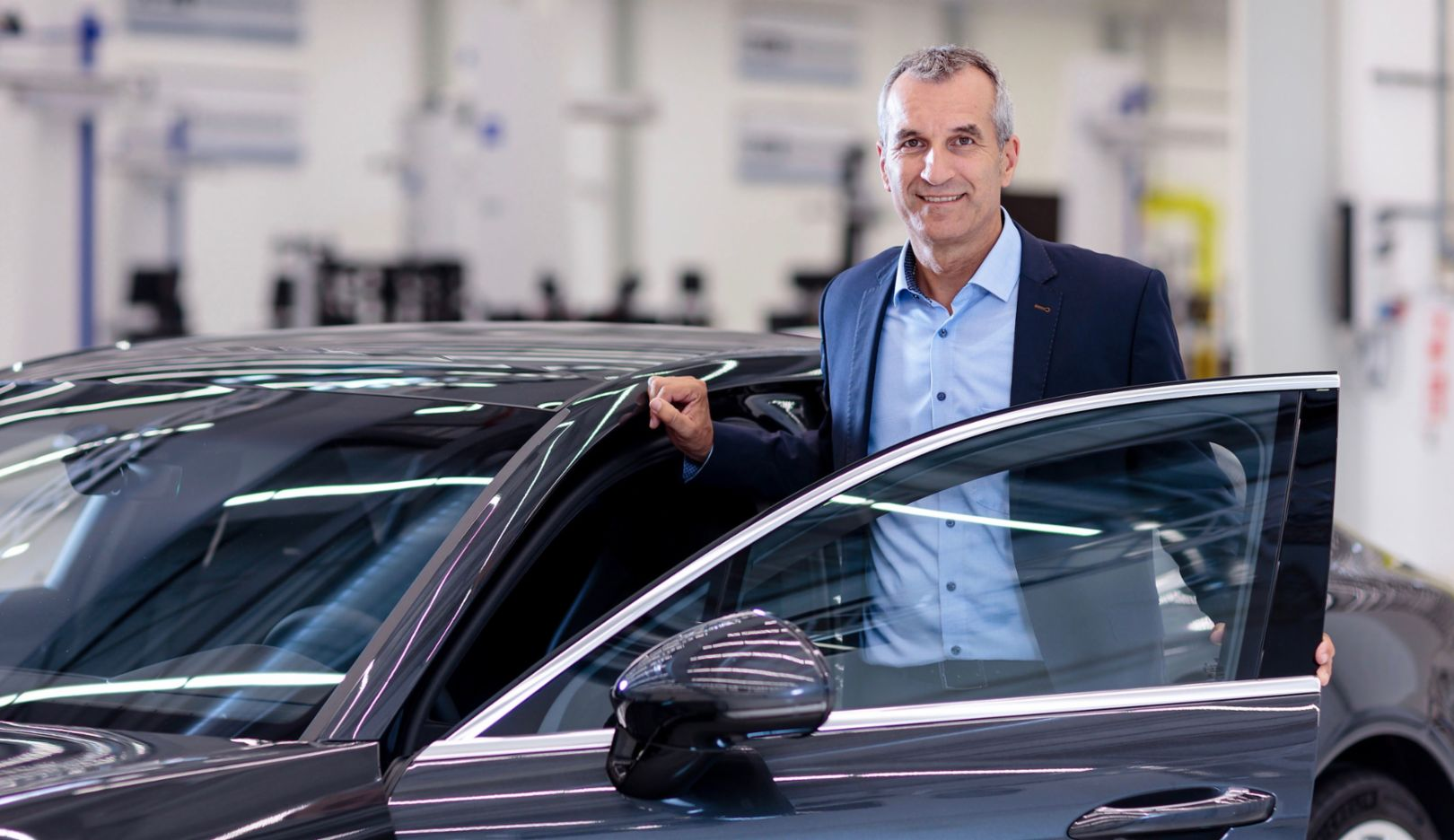 Albrecht Reimold, Member of the Executive Board for Production and Logistics, 2018, Porsche AG
