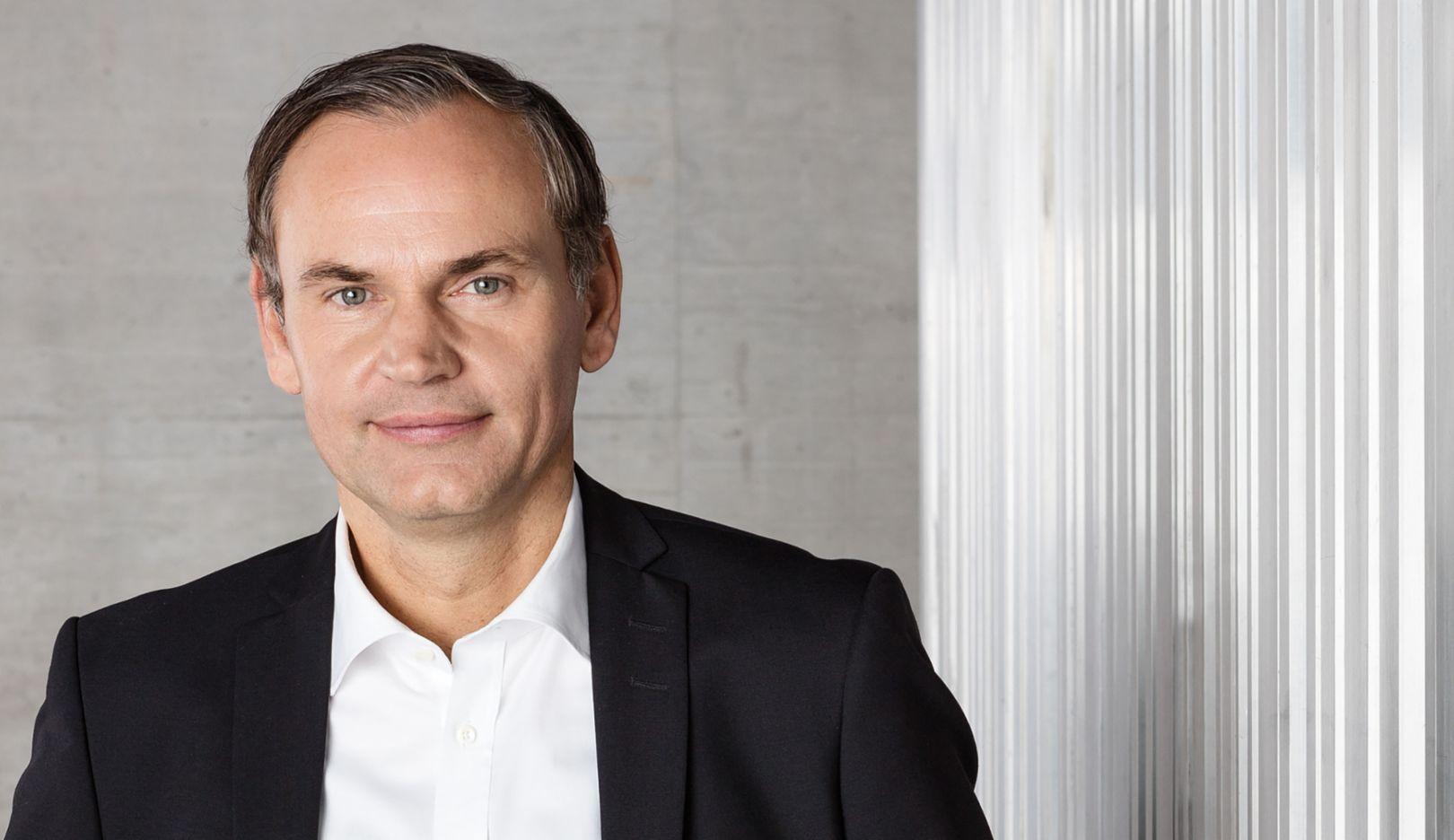 Oliver Blume, CEO, 2017, Porsche AG