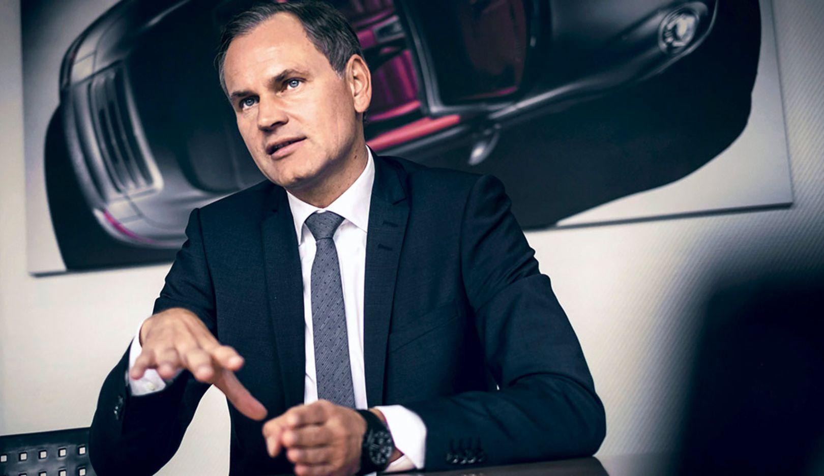 Oliver Blume, CEO, 2016, Porsche AG