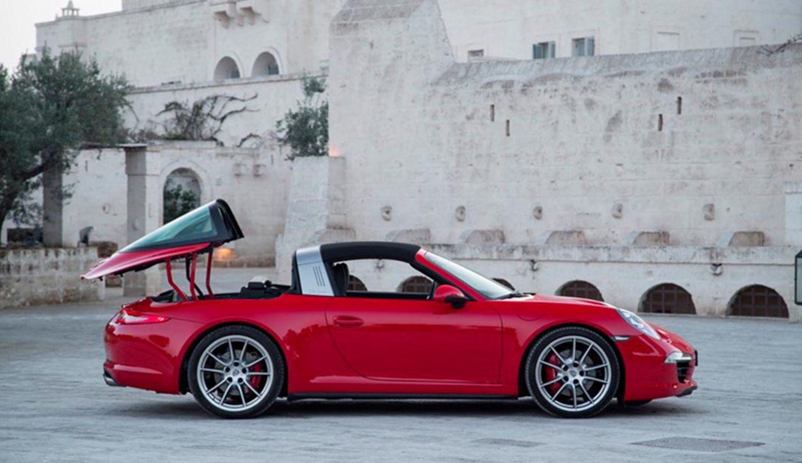 911 Targa 4S, 2014, Porsche