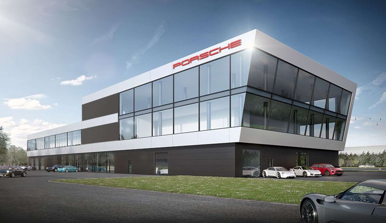 Porsche Experience Center, Hockenheimring, 2018, Porsche AG