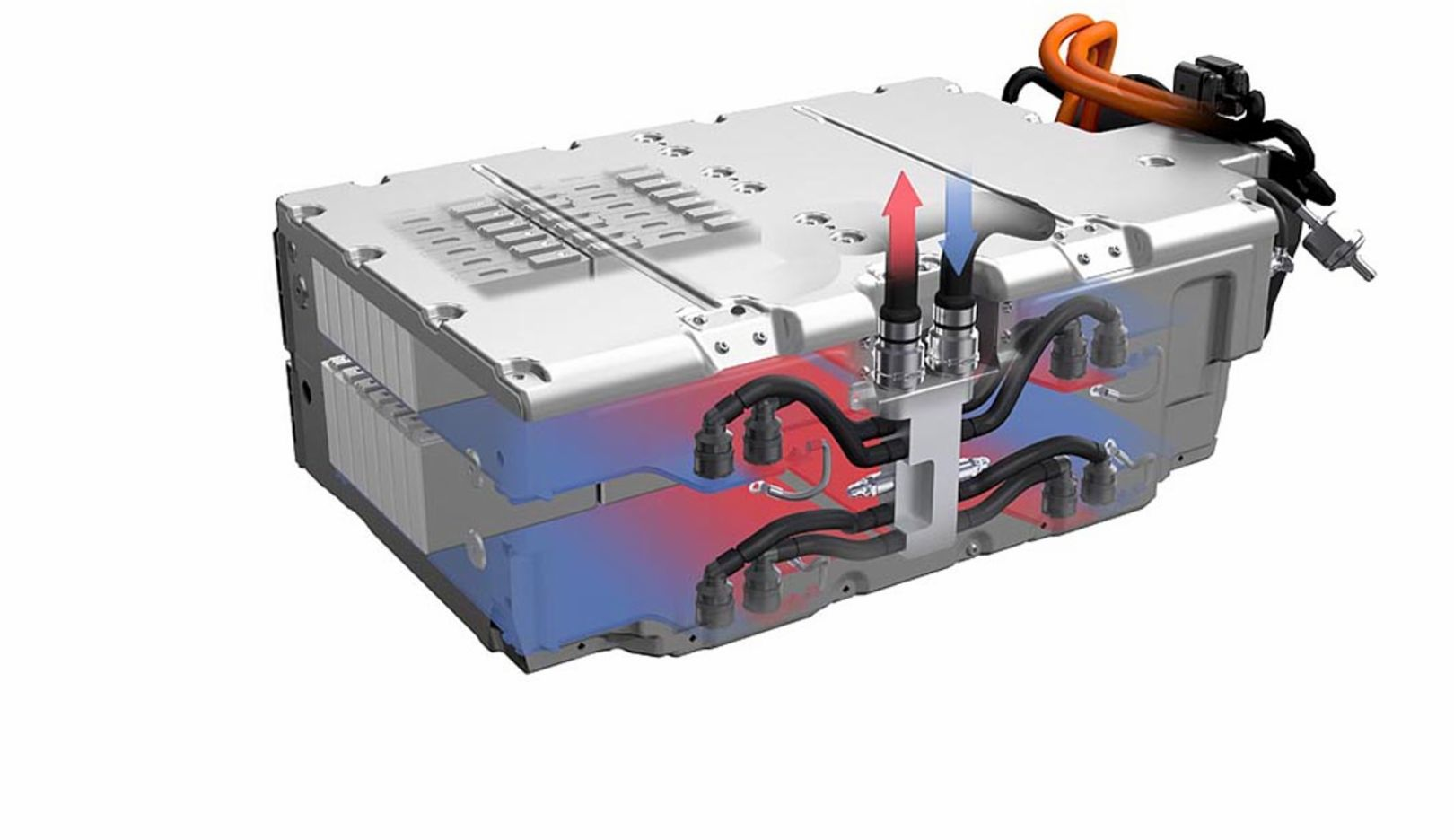 Batteriekühlung, 2014, Porsche AG