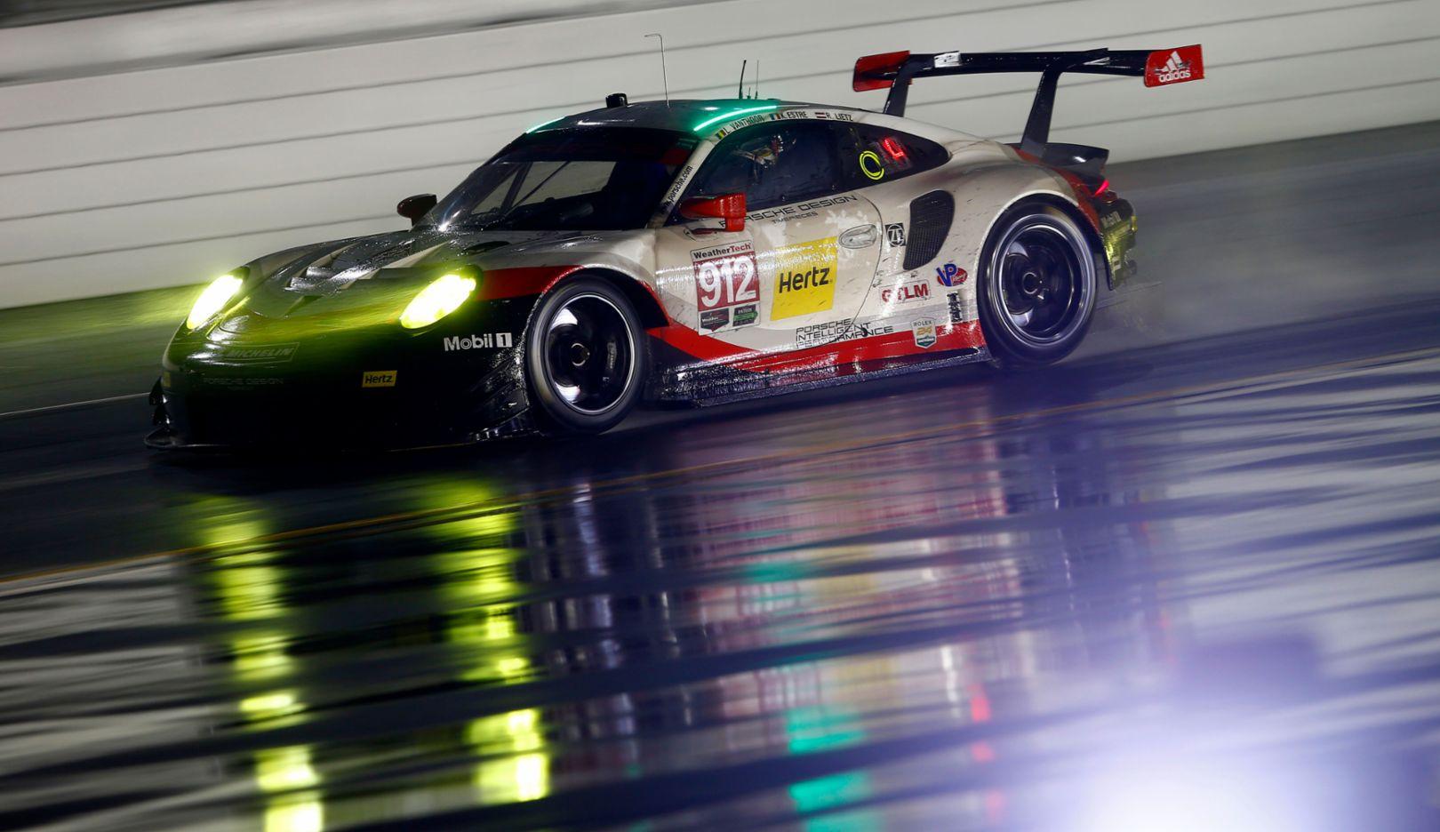 911 RSR, IMSA SportsCar Championship, Daytona, USA, 2017, Porsche AG