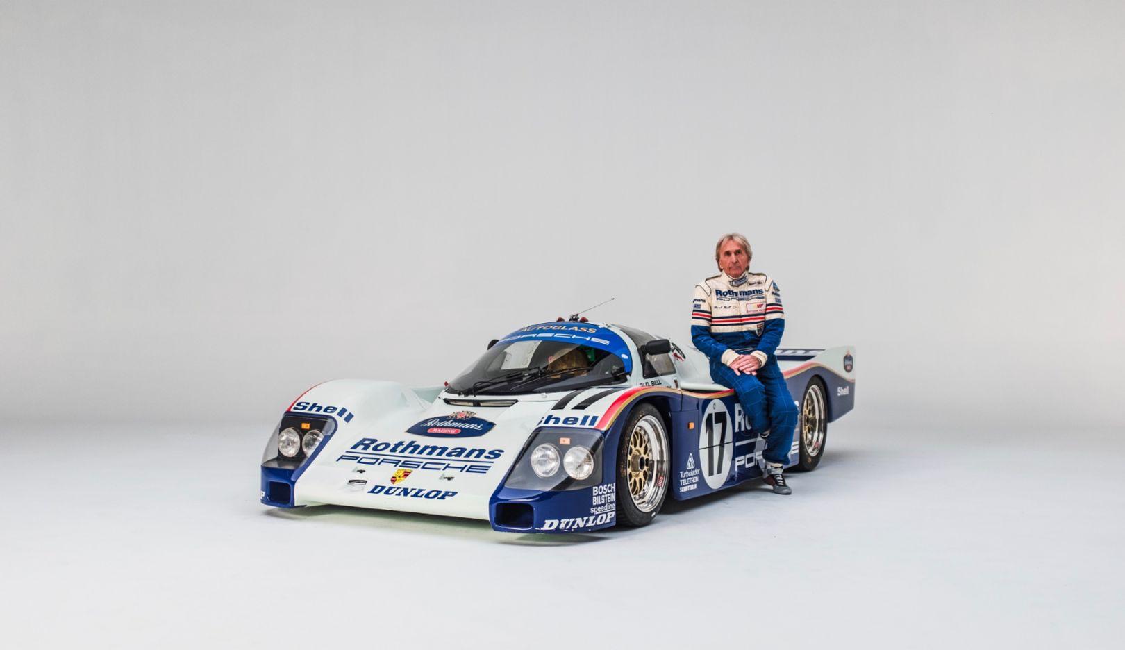 Derek Bell, Porsche 962 C, 2018, Porsche AG