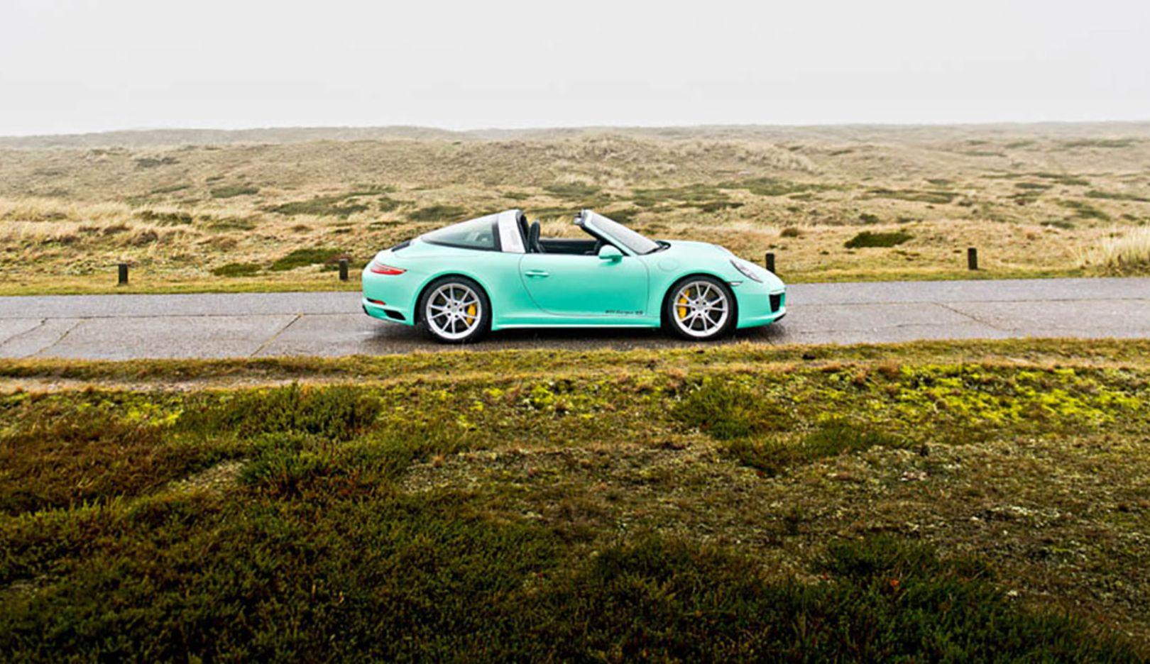Porsche 911 Targa 4S, Sylt, Ramp #38, 2017, Porsche AG