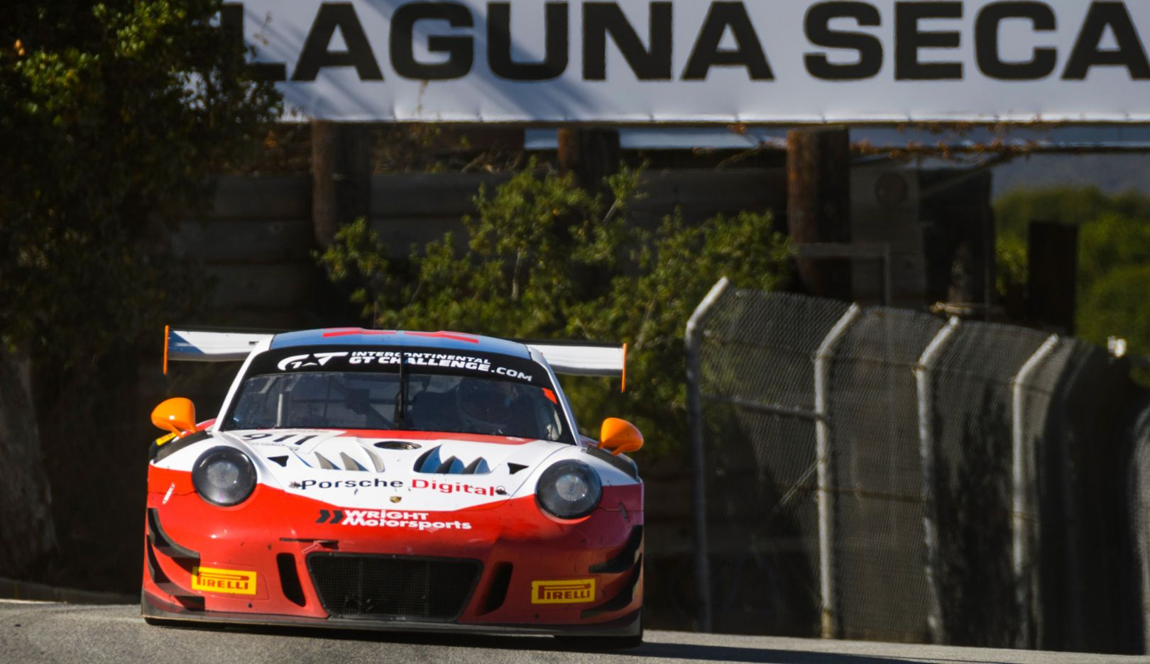 911 GT3 R, Wright Motorsports, 4. Lauf, Laguna Seca, 2018, Porsche AG