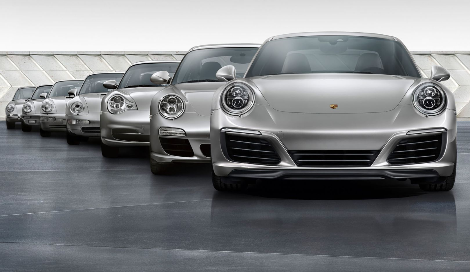 From zero to 1,000,000 Seven generations of the Porsche 911