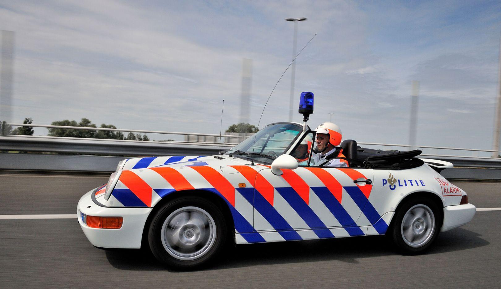 964 Cabriolet, Rijkspolitie, police, Netherlands, 2012, Porsche AG