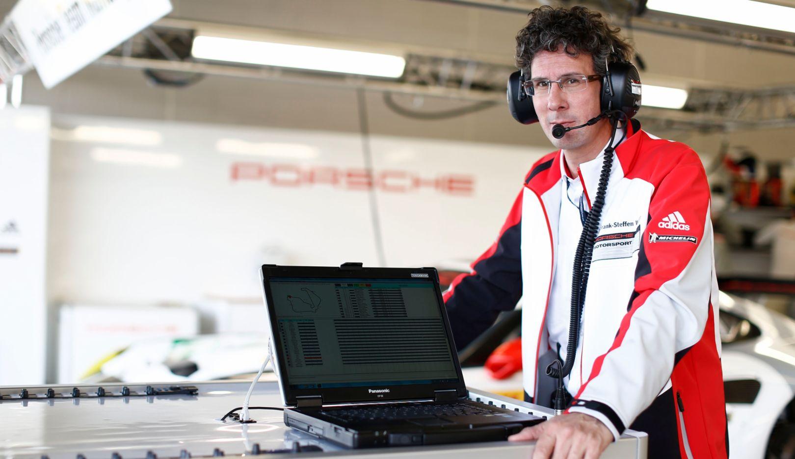 Dr. Frank Steffen Walliser, Porsche-Motorsportchef, 2015, Porsche AG