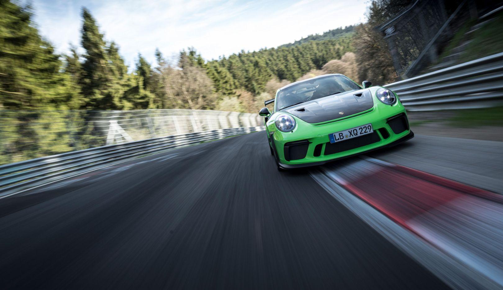 911 GT3 RS 在德国纽博格林北环赛道