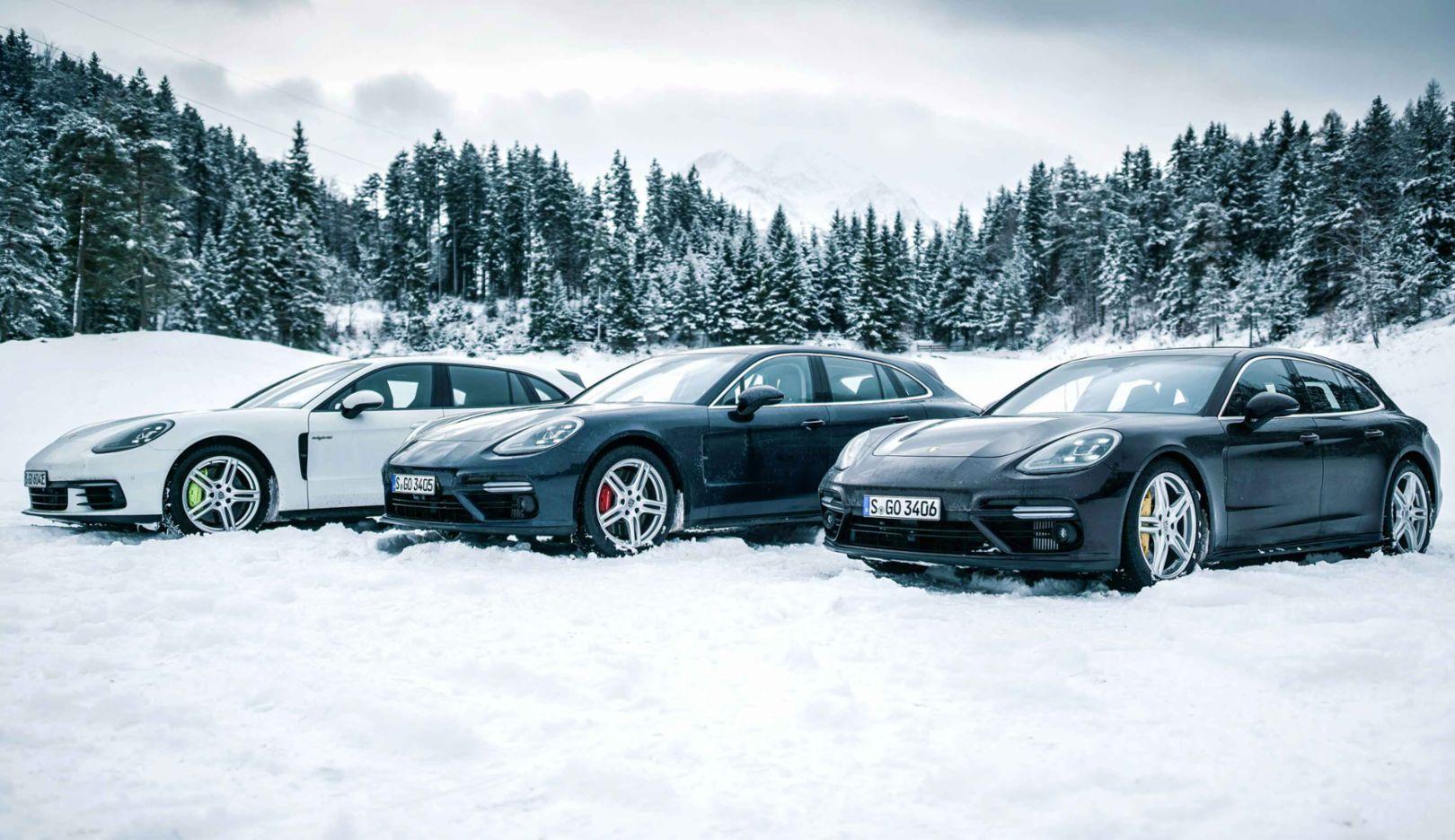 Panamera Turbo Sport Turismo, Panamera 4 E-Hybrid Sport Turismo, Roadtrip, Österreich, 2017, Porsche AG