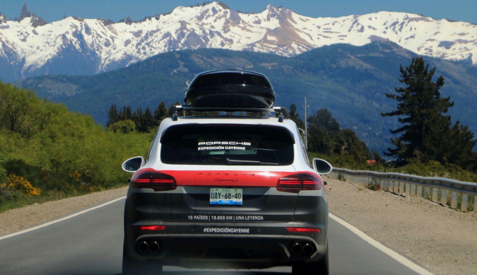 Cayenne S, Expedicion Cayenne, Andes Mountains, San Carlos de Bariloche, Argentina, 2018, Porsche AG