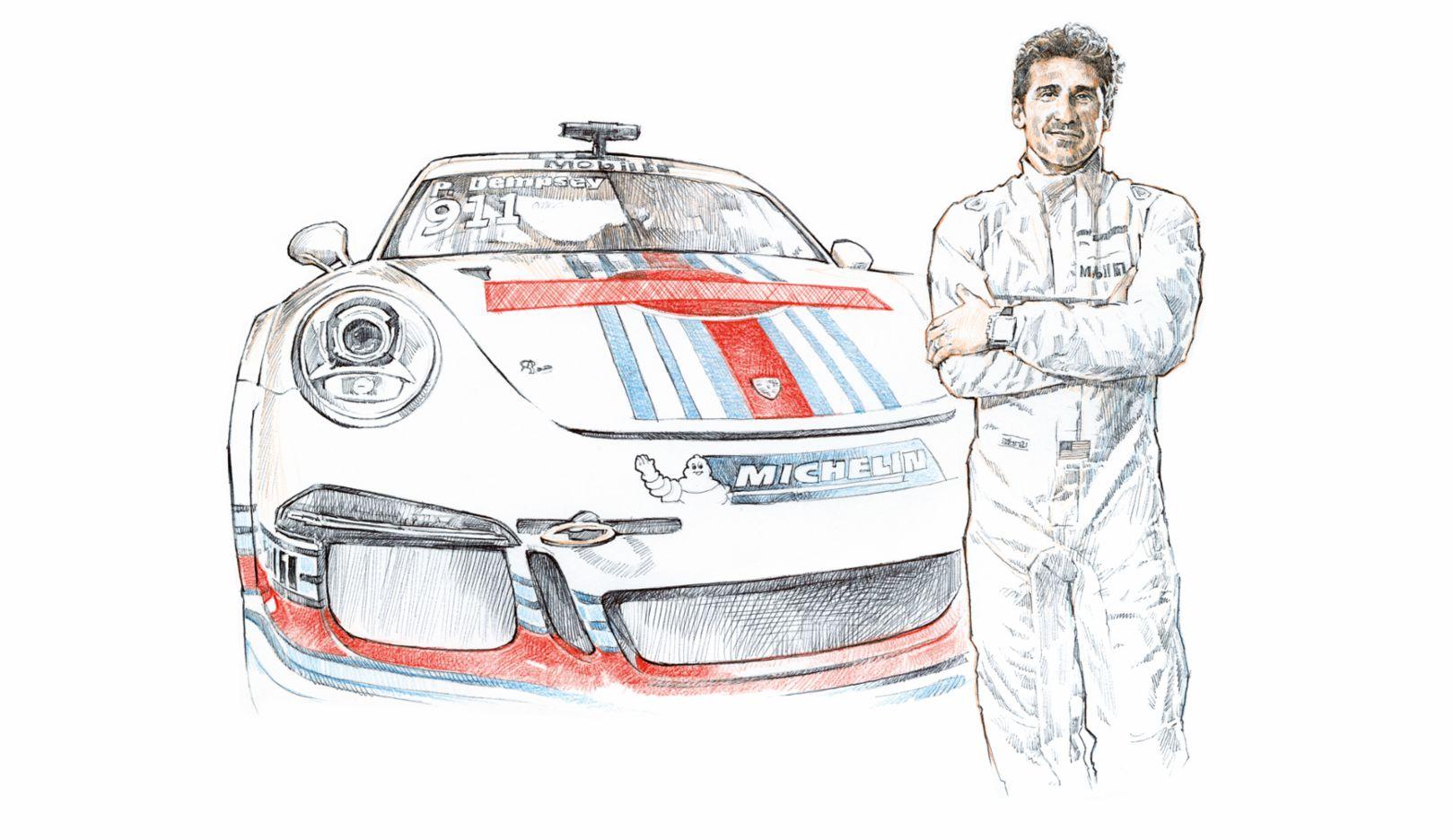 Patrick Dempsey, Porsche AG