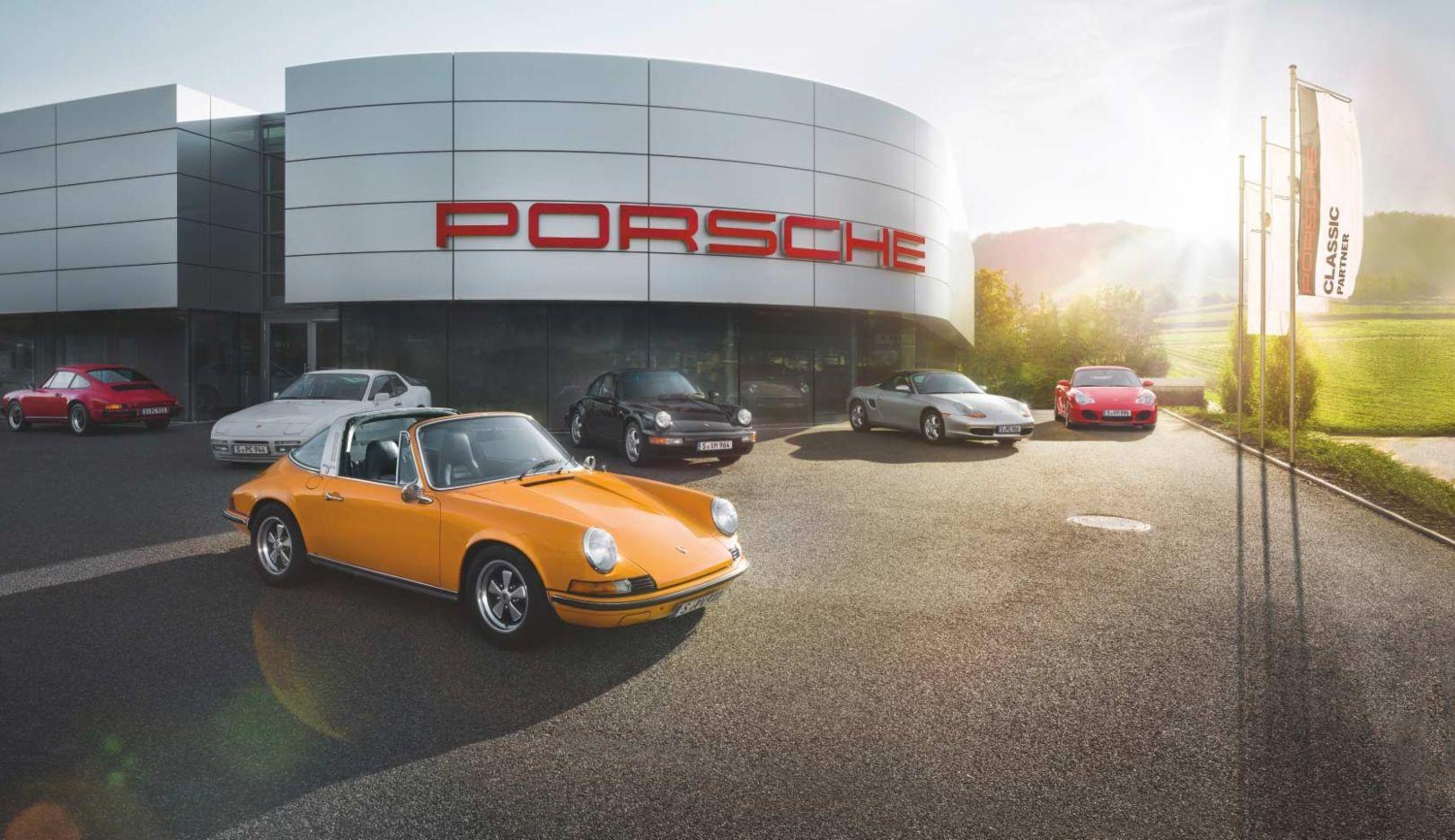 Porsche Classic Partner, 2014, Porsche AG