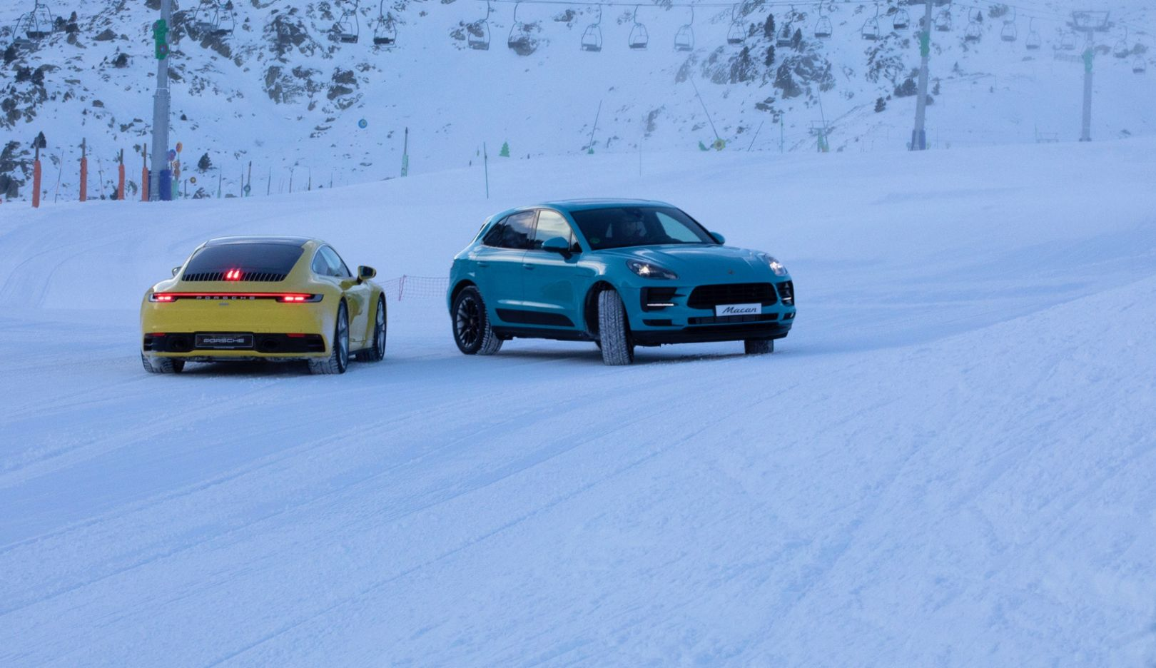A ski day with Porsche