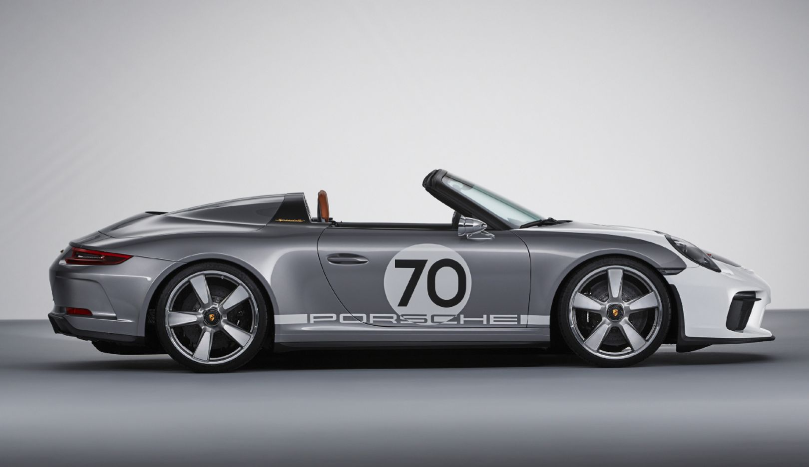 The Porsche 911 Speedster Concept Open Top And Pure