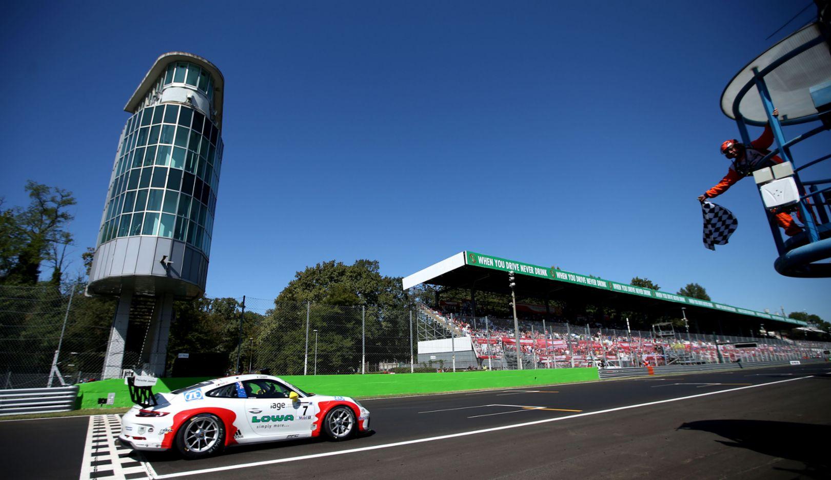 911 GT3 Cup, Porsche Mobil 1 Supercup, Lauf 9, Monza, Italien, 2017, Porsche AG