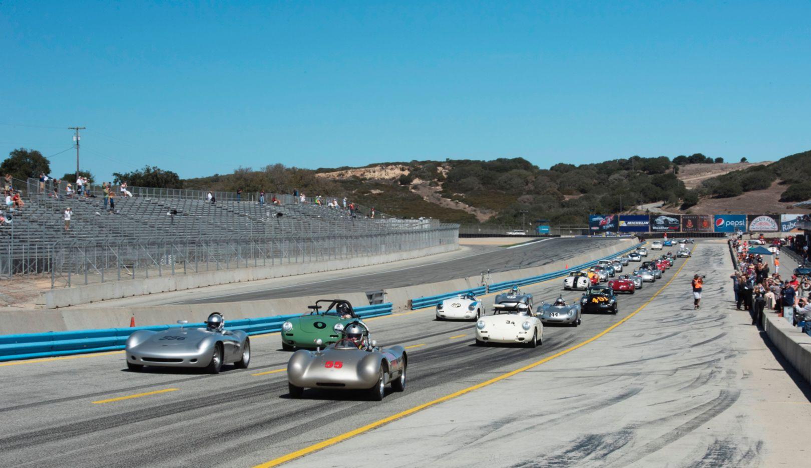 Rennsport Reunion V, Mazda Raceway Laguna Seca, 2015, Porsche AG