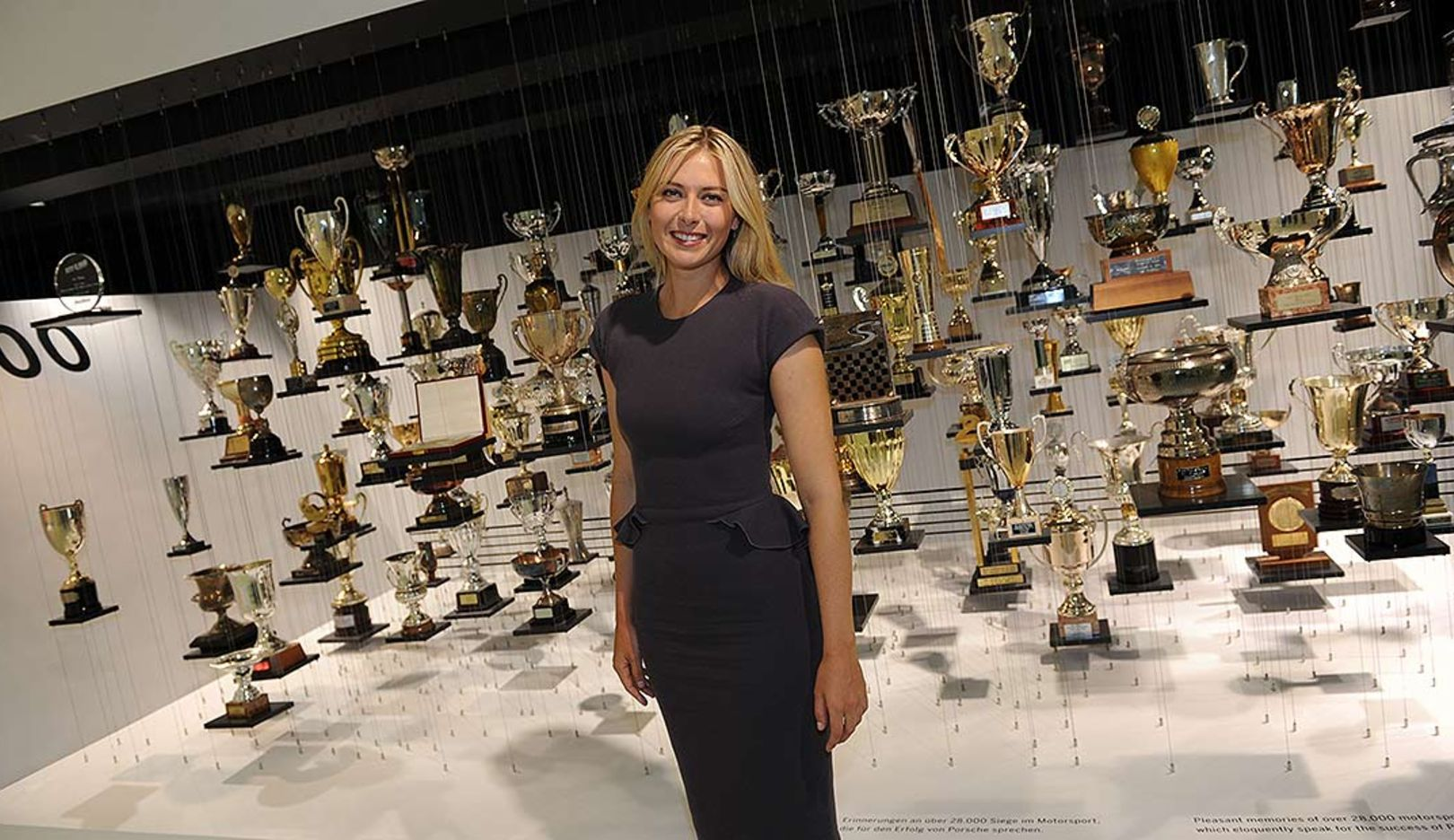 Maria Sharapova, brand ambassador, 2014, Porsche AG