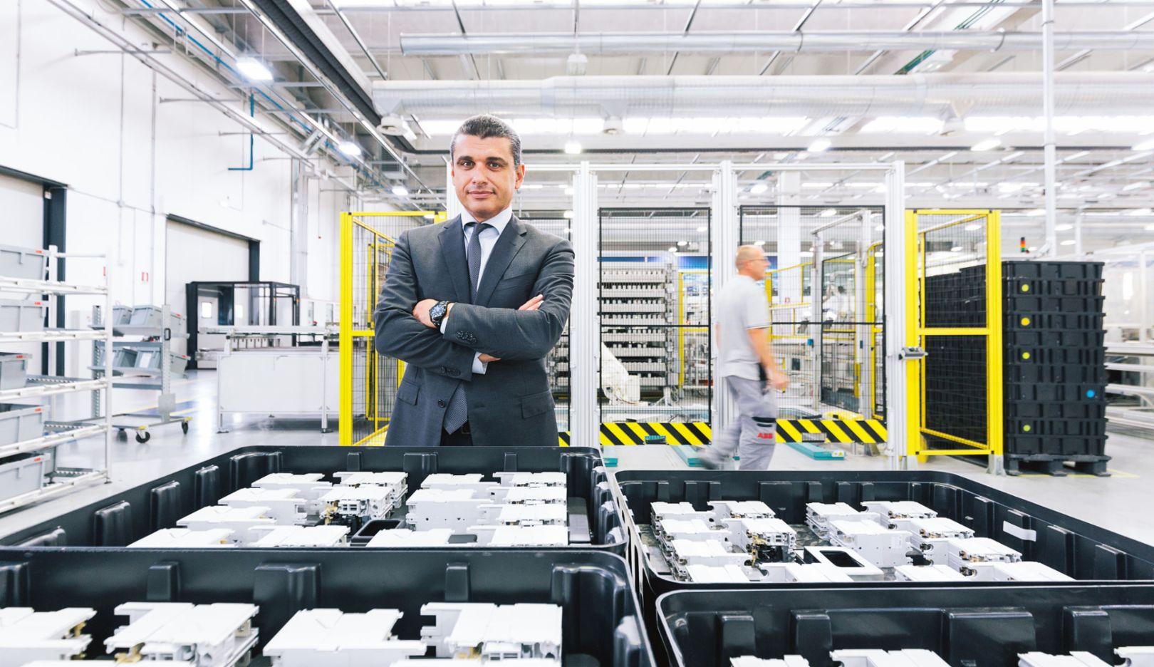 Andrea Menti, Manager ABB, Frosinone, 2016, Porsche Consulting GmbH
