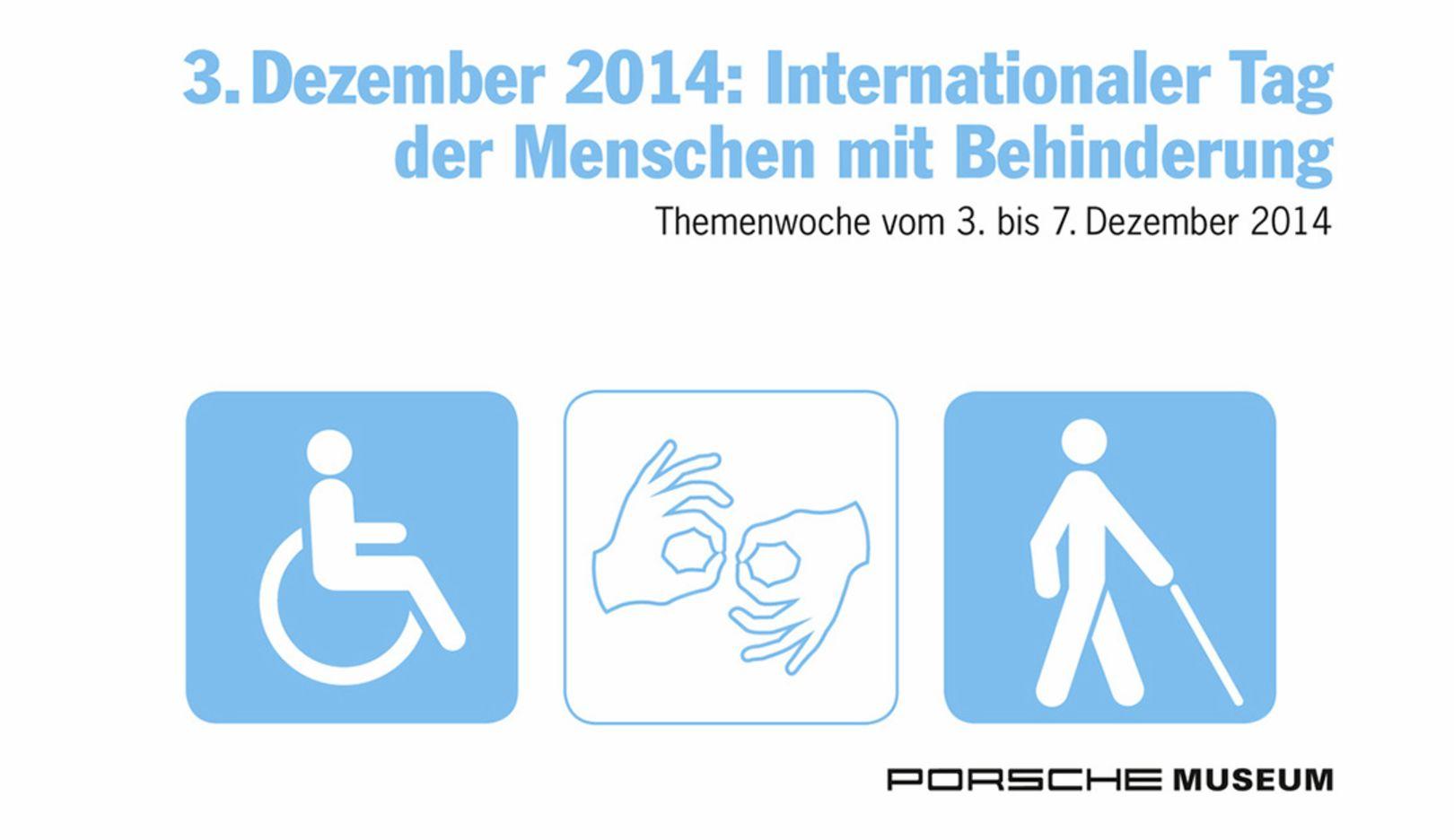 Internationaler Tags der Menschen mit Behinderung, Porsche-Museum, 2014, Porsche AG