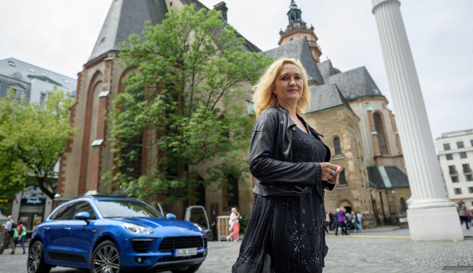 Sopranistin Simone Kermes, Leipzig, 2016, Porsche AG