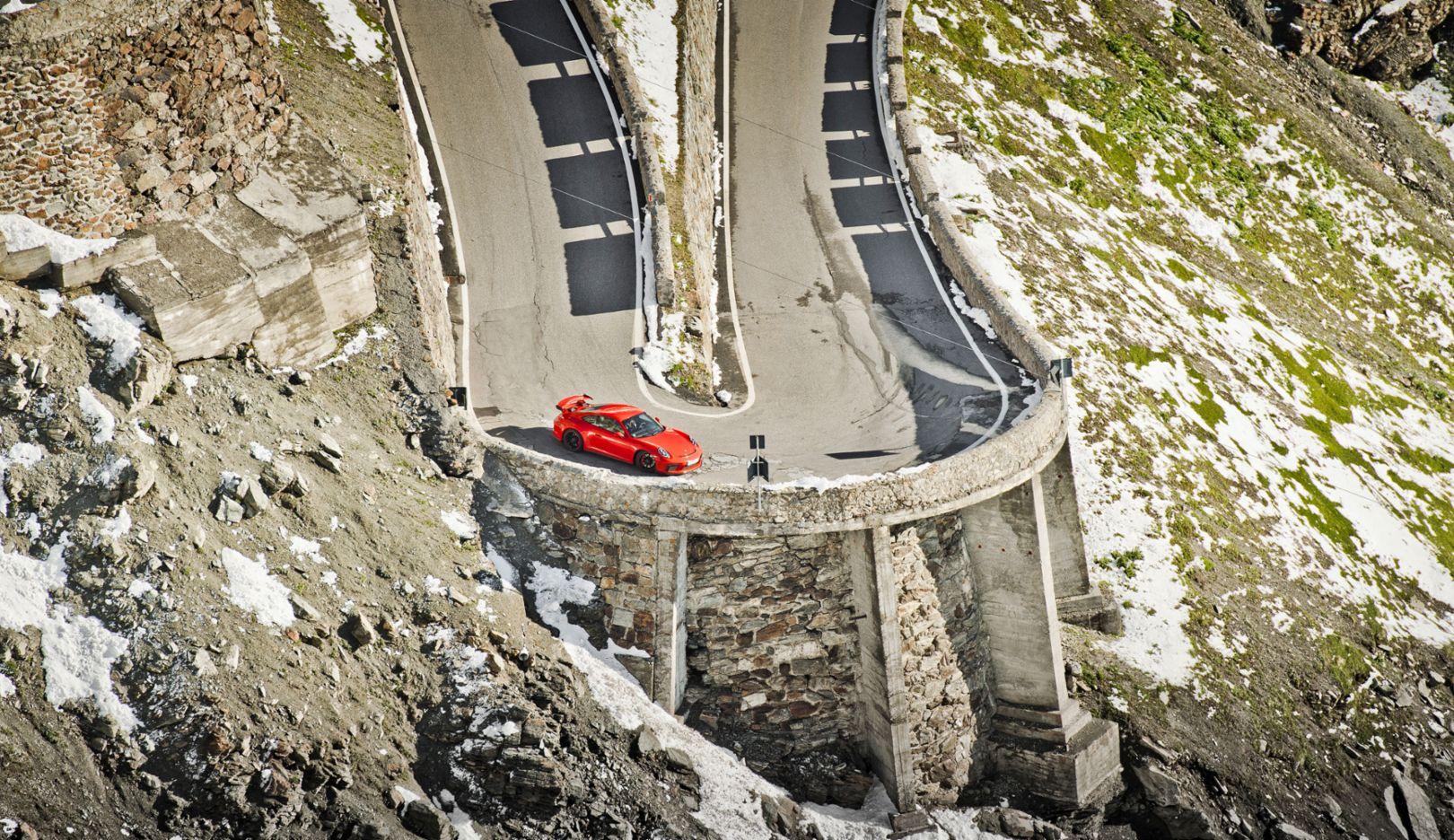 GT3, Porsche Drive – Stelvio, 2017, Porsche AG