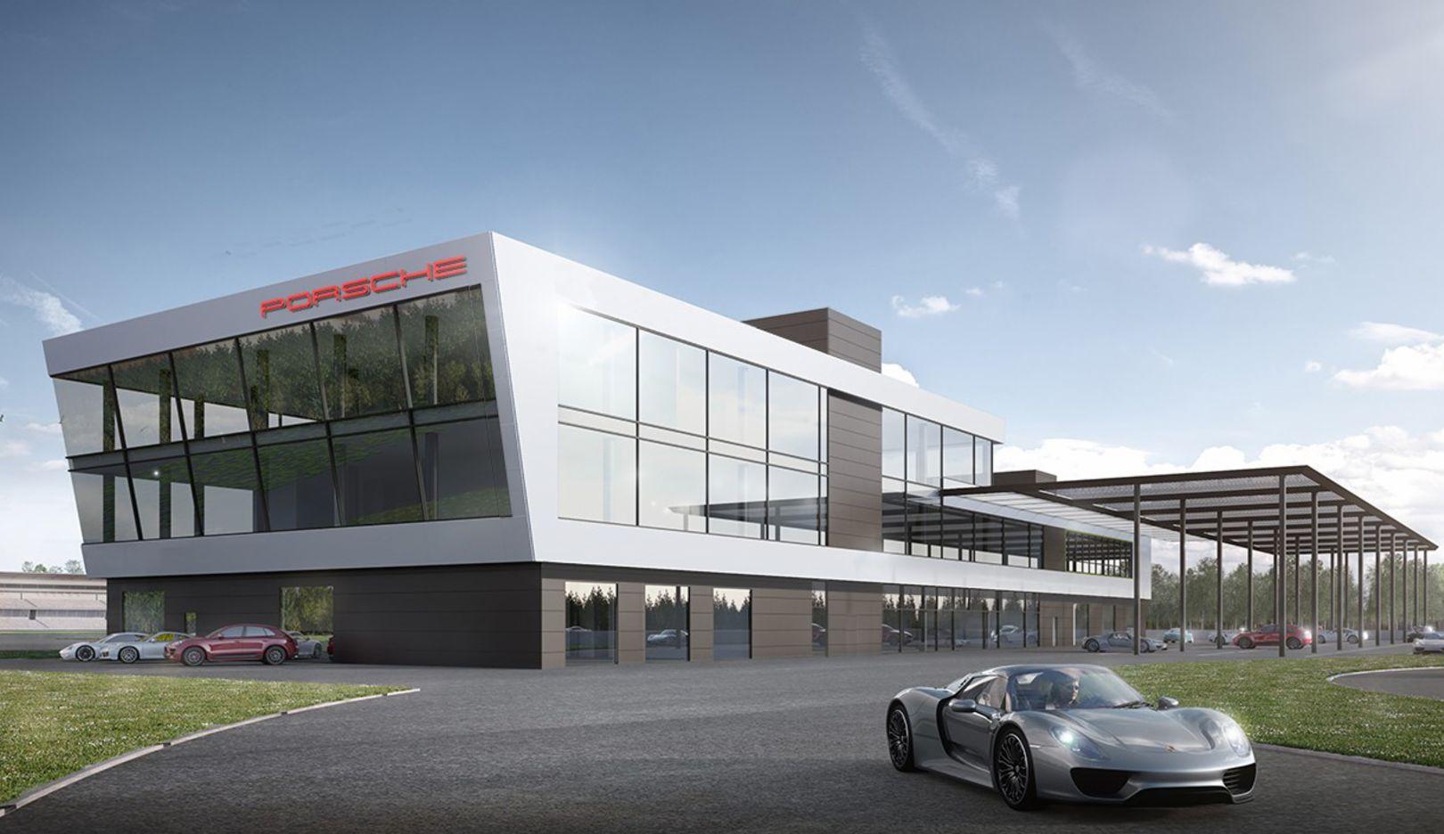 Porsche Experience Centre, Hockenheimring, 2018, Porsche AG