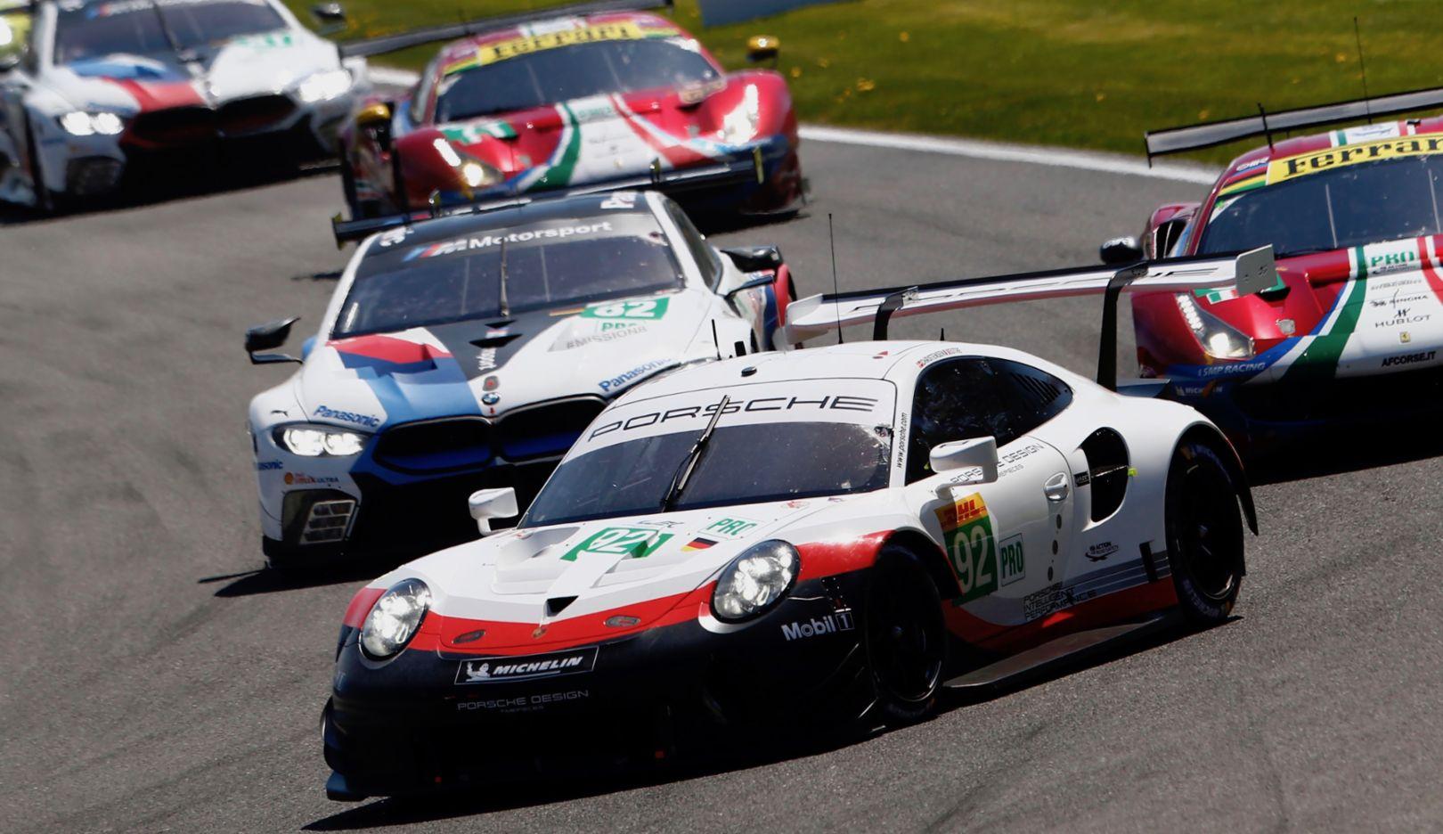 911 RSR, Rennen, Spa-Francorchamps, FIA WEC, 2018, Porsche AG