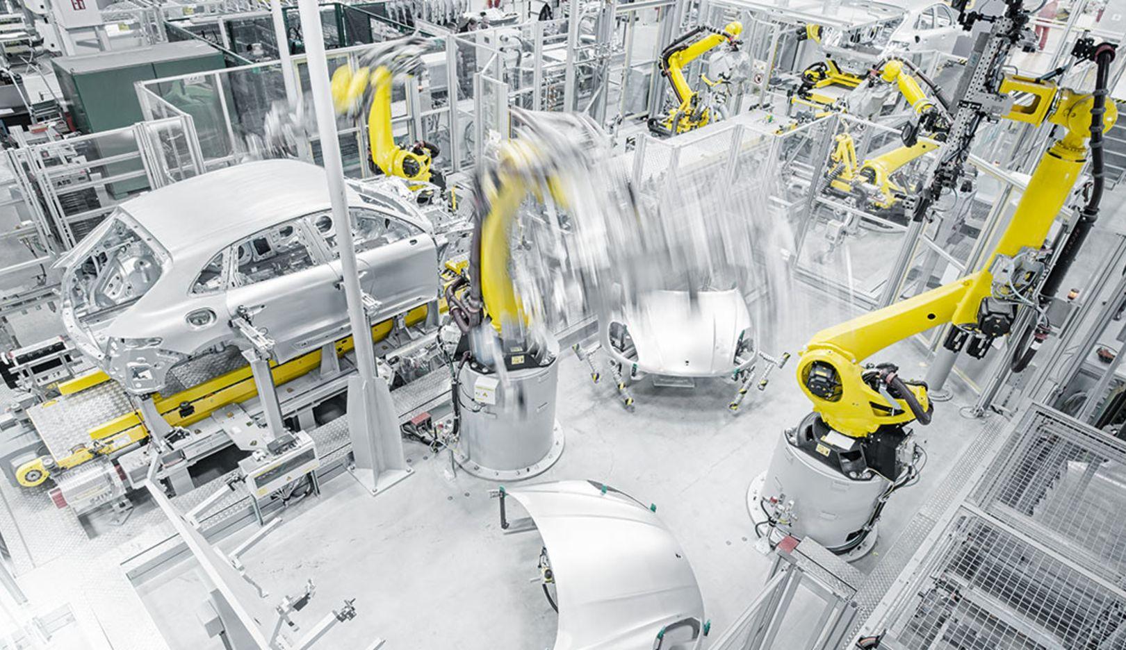Macan, assembling, Leipzig, 2014, Porsche AG