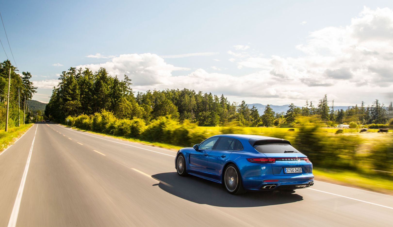 Panamera Turbo Sport Turismo, Canada, 2017, Porsche AG