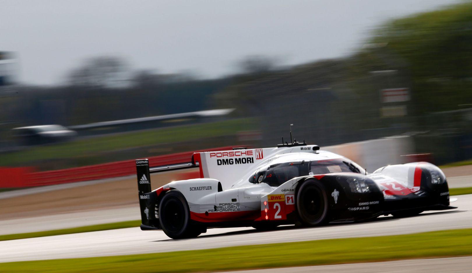 919 Hybrid, free practice, WEC, Silverstone, 2017, Porsche AG