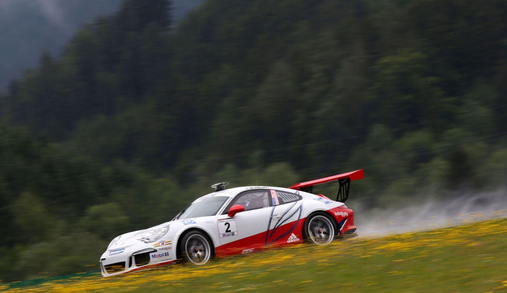 Connor de Phillippi (USA), 911 GT3 Cup, Porsche Mobil 1 Supercup, Spielberg 2015, Porsche AG