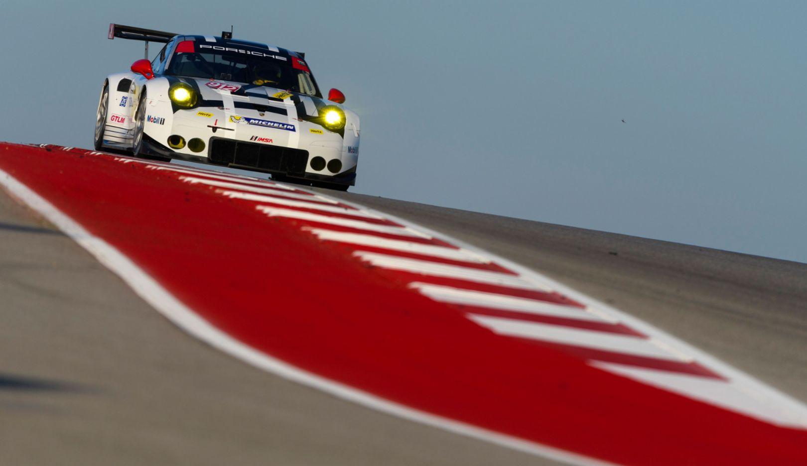911 RSR, IMSA SportsCar Championship, Austin, 2016, Porsche AG