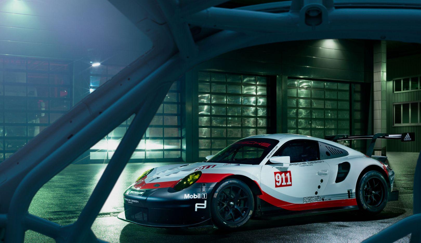 911 RSR, Porsche calender 2018, Porsche AG