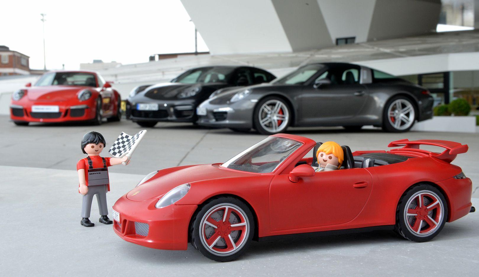 911 Carrera S Cabriolet, Playmobil, 911 Carrera S Cabriolet, 2015, Porsche AG