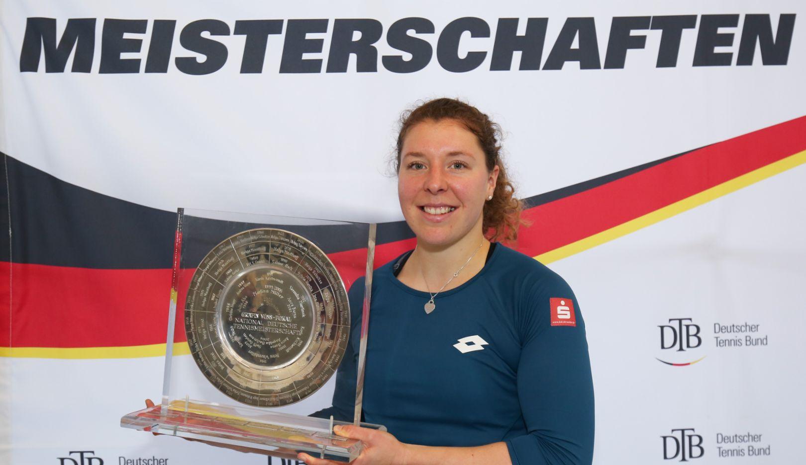 Anna-Lena Friedsam, Deutsche Tennis-Meisterin, 2018, Porsche AG