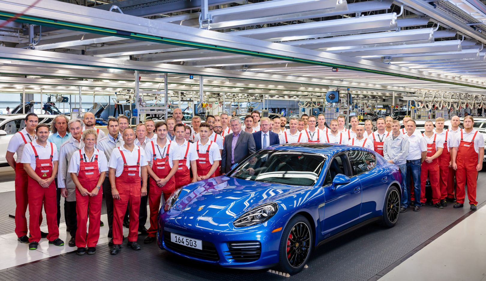 Panamera, Porsche plant in Leipzig, 2016, Porsche AG