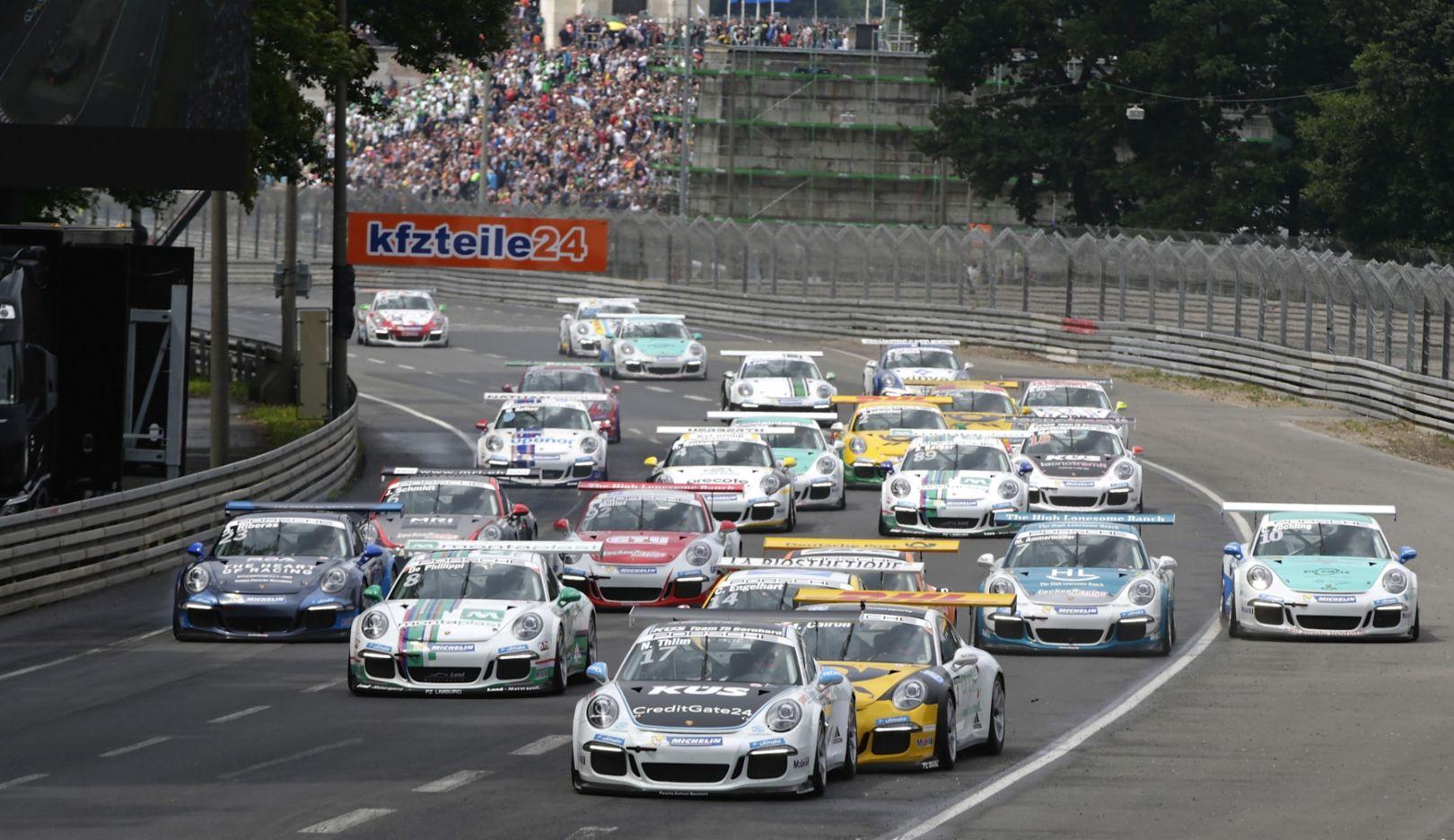 Porsche Carrera Cup Deutschland, 2015, Porsche AG