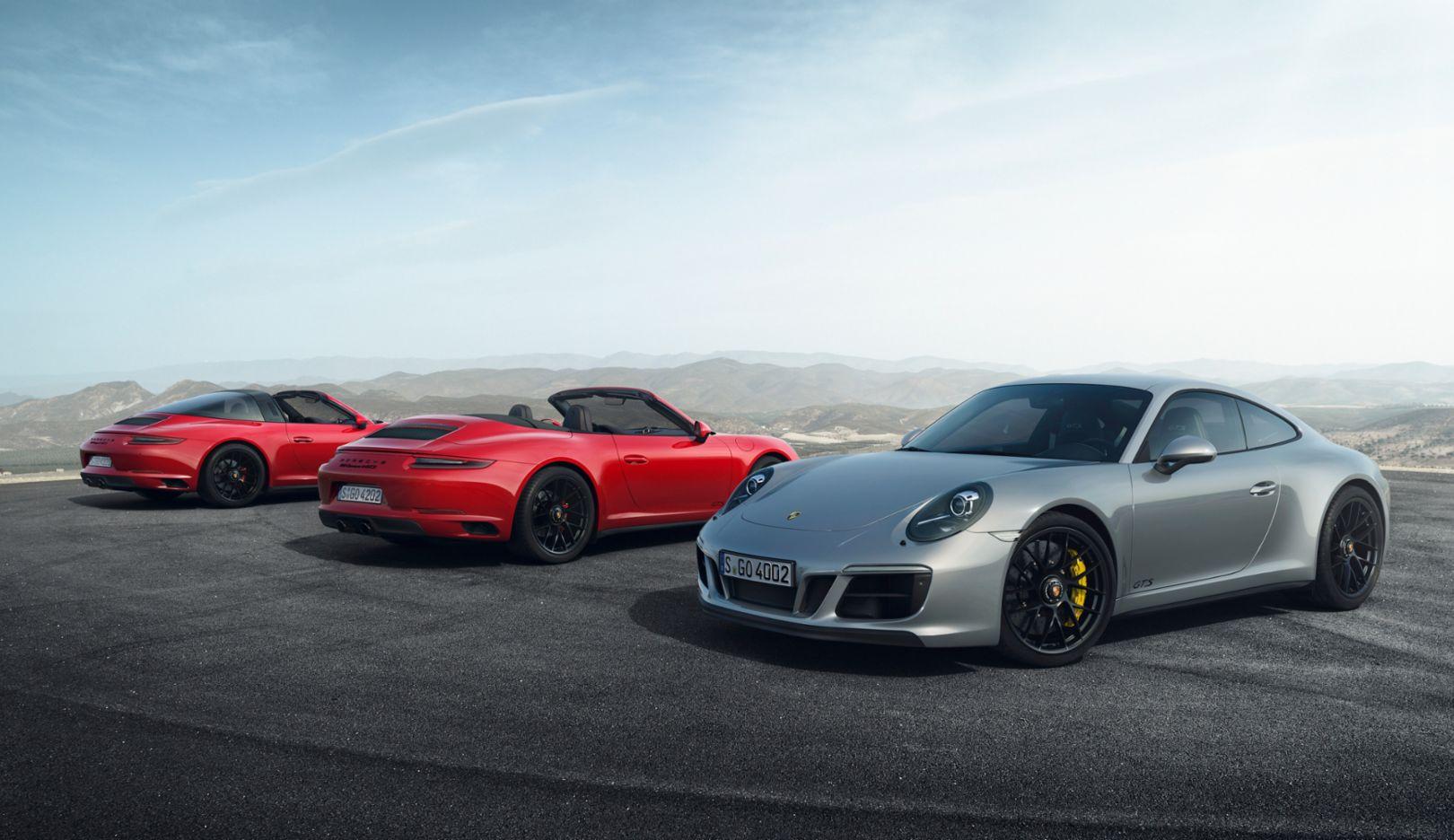 The New 911 Gts Models