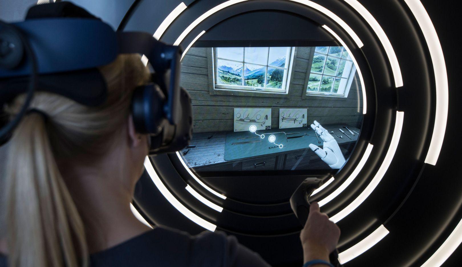 Virtual Reality Experience App, Porscheplatz, 2018, Porsche AG