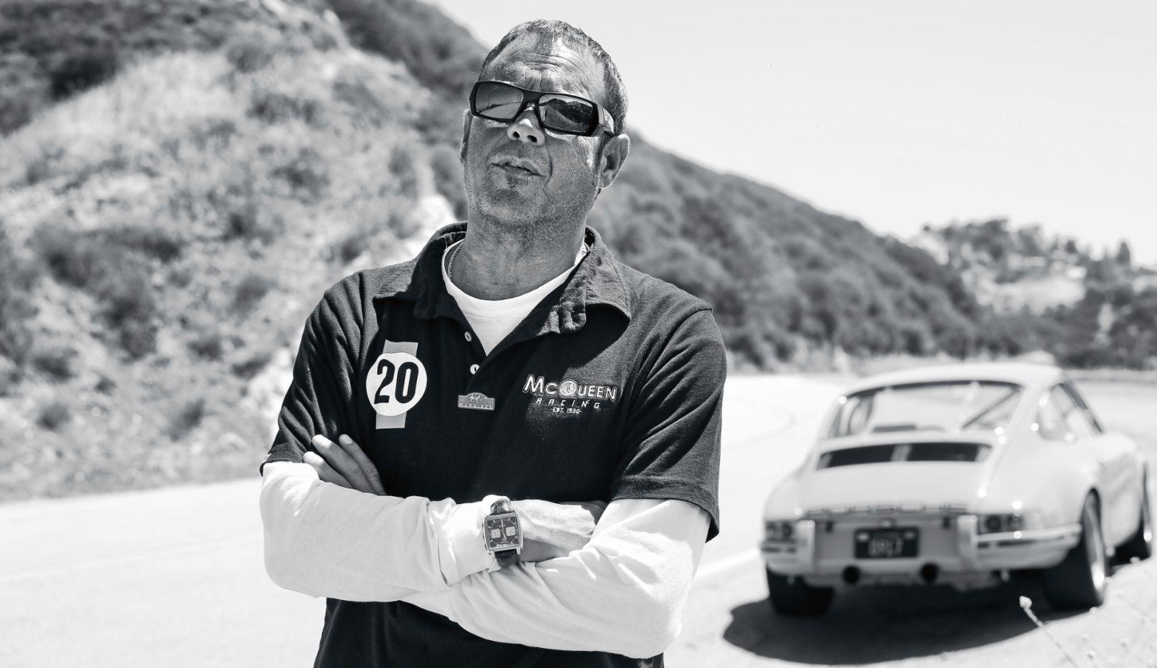Chad McQueen, 2017, Porsche AG