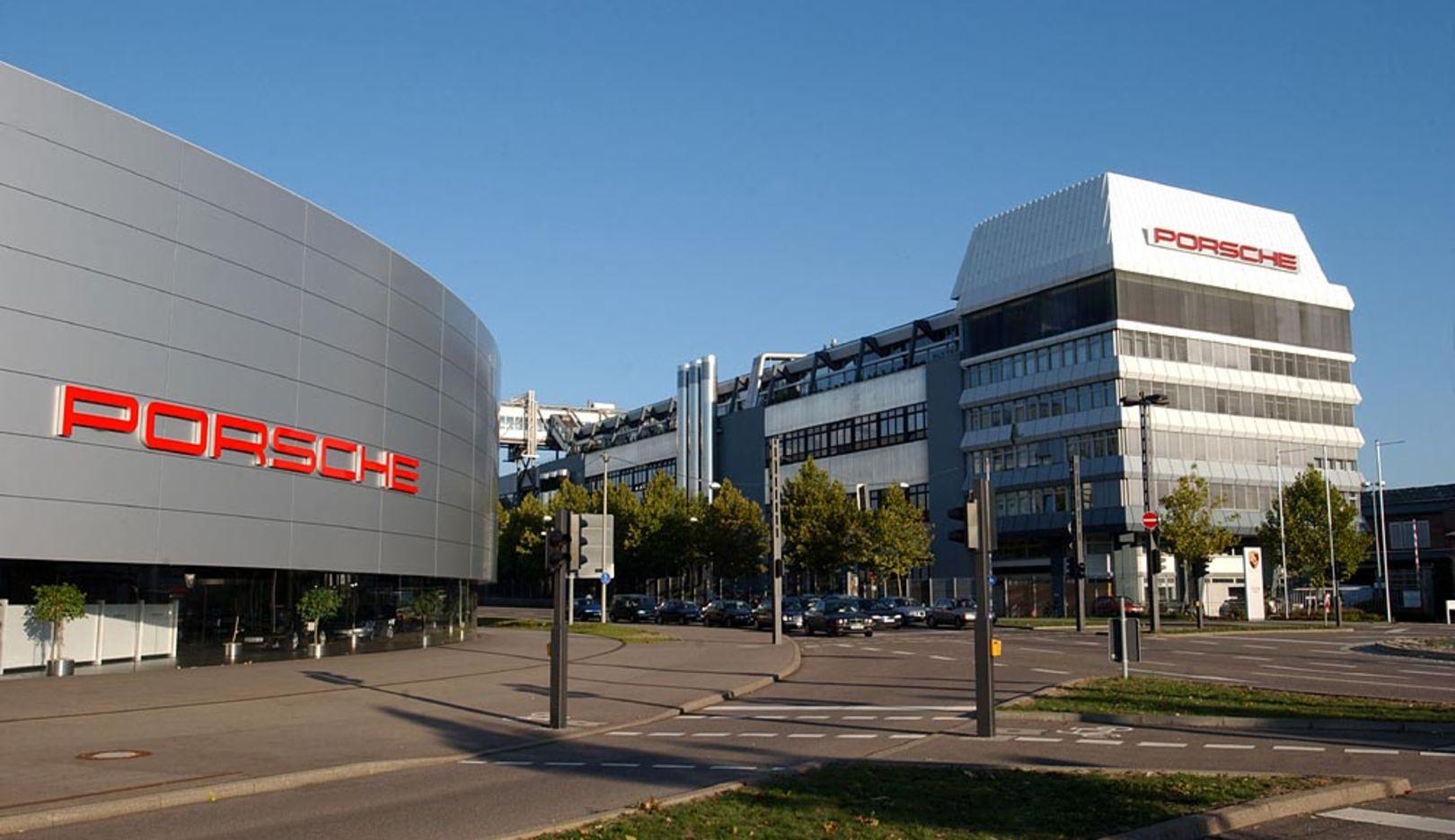 Plant Zuffenhausen, 2014, Porsche AG