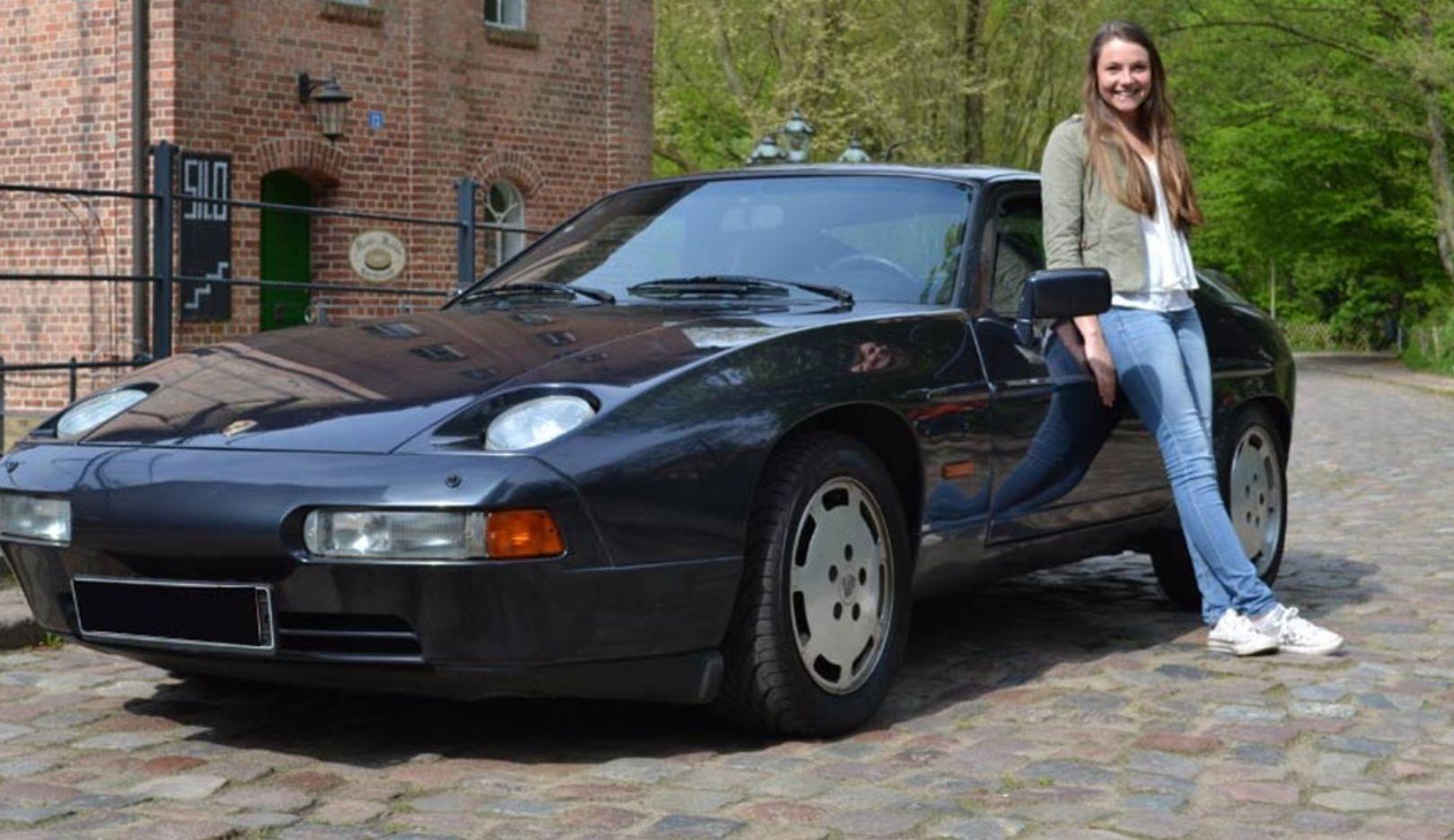 Pia Beckmann, Porsche 928, 2017, Porsche AG
