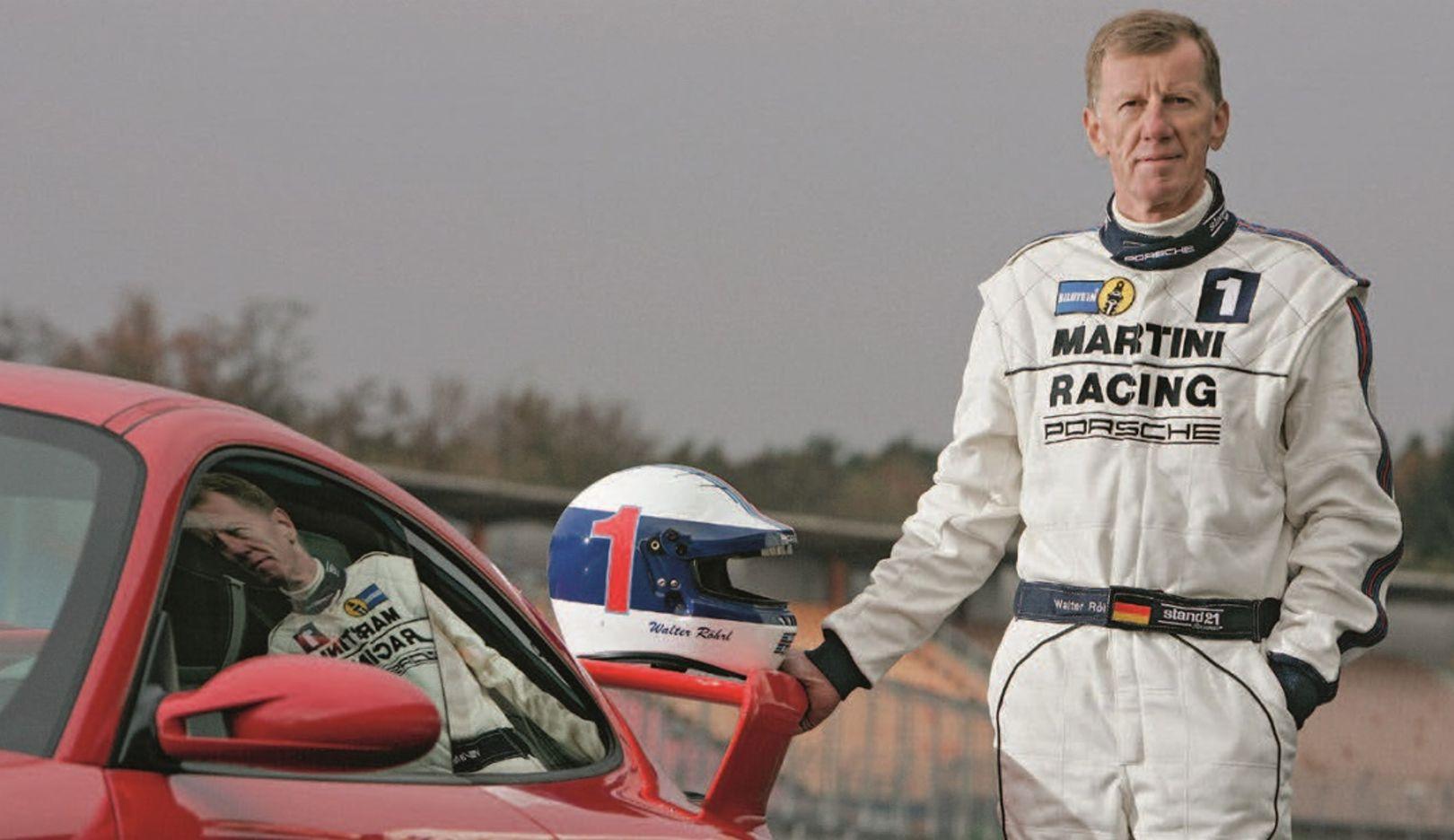 Die Porsche Legende Walter Röhrl